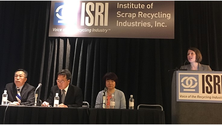 ISRI2017: Barriers loom in Chinese scrap trade