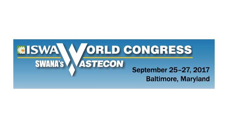 Wastecon/ISWA World Congress 2017: The global waste and recycling landscape