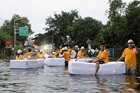 Protect-A-Bed and Massindo Group Help Flood Victims in Indonesia