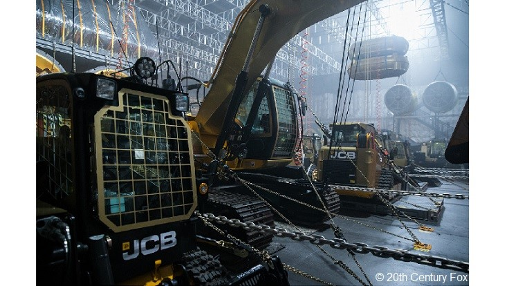 "JCB machines featured in ""Alien: Covenant"""