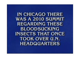 BedBug Central's Summit Featured on 'Jeopardy'