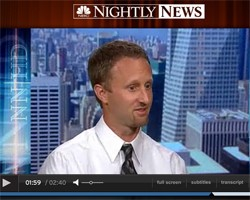 BedBug Central's Jeffrey White Appears on NBC Nightly News