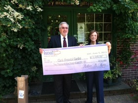 Knockout Donates to Clark Botanical Garden for Hurricane Sandy Repairs