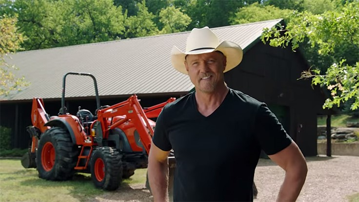KIOTI Tractor partners with Trace Adkins for promotion