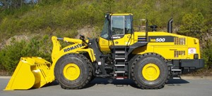 Komatsu Introduces New Wheel Loader
