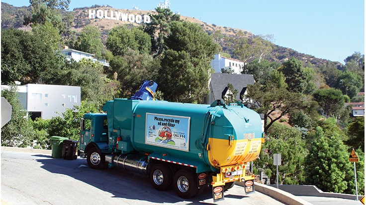 LA recycling program recognized for customer service technology