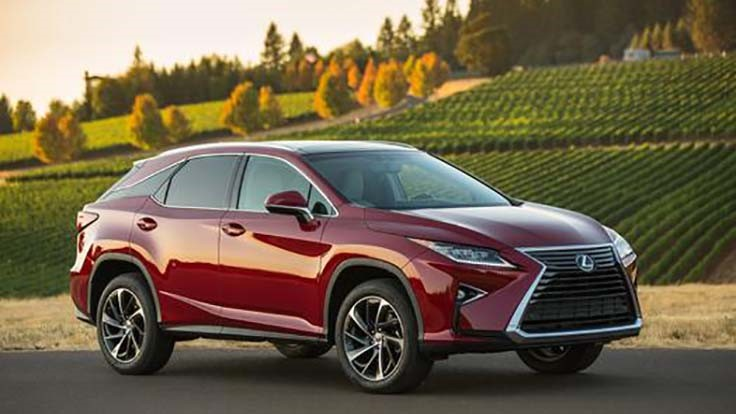 Toyota taps Arconic for Lexus RX show metal - Today's Motor