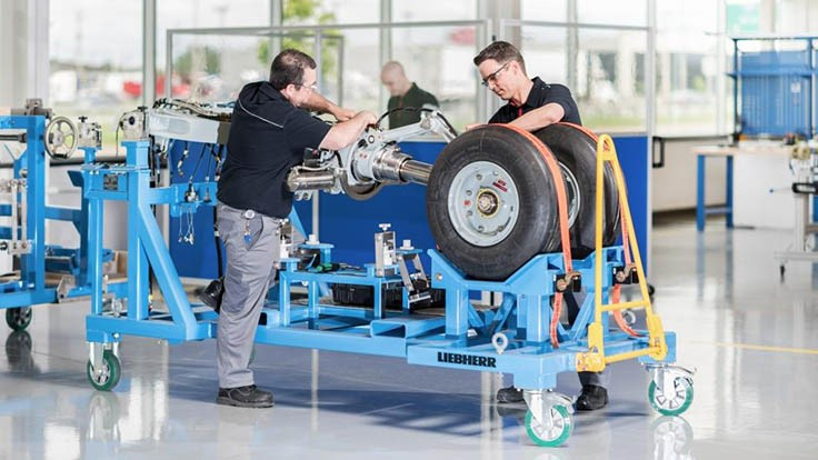 Liebherr-Aerospace inaugurates Canadian landing gear assembly