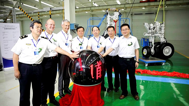 German-Chinese joint venture delivers landing gear to COMAC