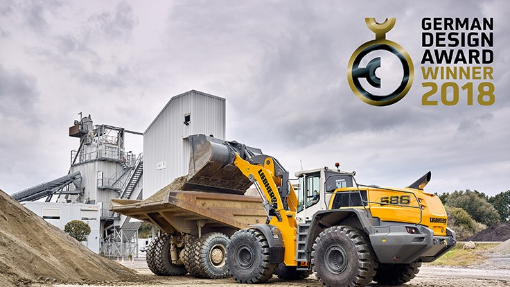 Liebherr earns German Design Award