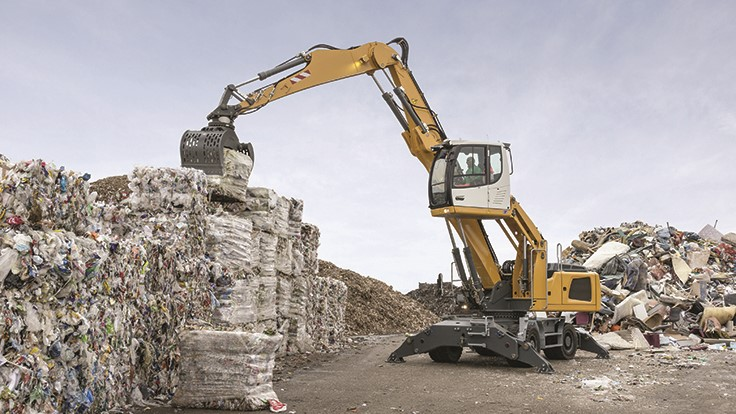 Liebherr Construction Equipment adds distributor - Recycling