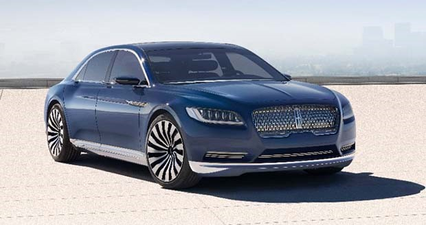 Ford revives Lincoln Continental name for concept car - Today's