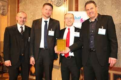 Lindner-Recyclingtech receives Global CemFuels Award