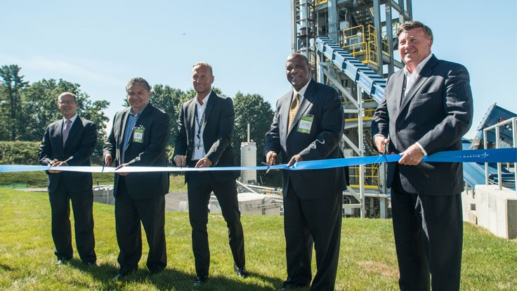 Lockheed Martin opens bioenergy facility in New York