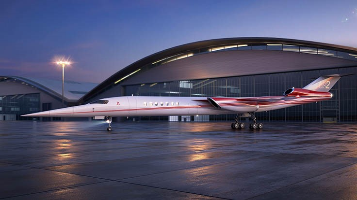 Aerion, Lockheed Martin agree to develop supersonic business jet
