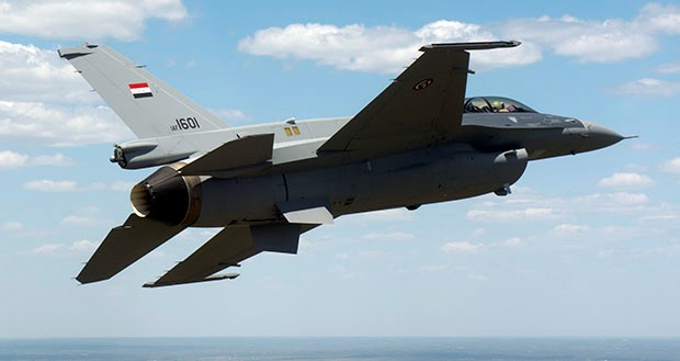 First Iraqi F-16 completes first flight