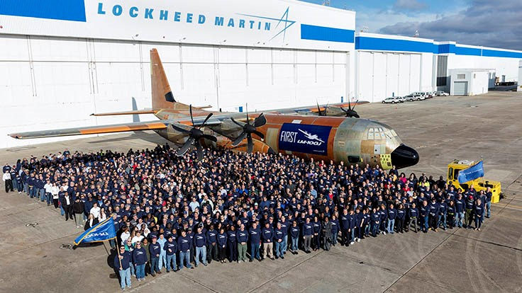 Lockheed Martin rolls out first LM-100J commercial freighter