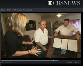 Lonnie Alonso Appears on 'CBS Evening News' Bed Bug Segment