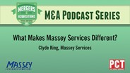 M&A Podcast Series: Massey Services
