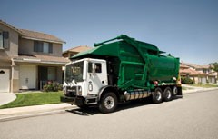 Mack Showcases Natural Gas Powered Truck at WasteExpo