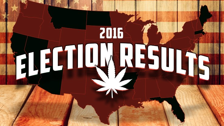 2016 Election Results: The Year for Marijuana Law Reform