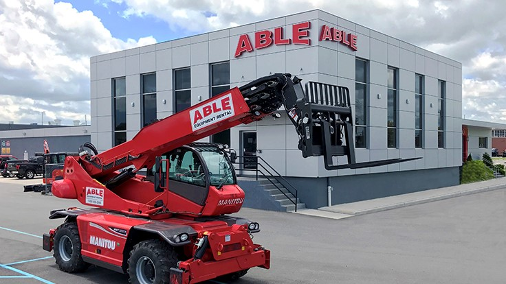 Manitou adds Able Equipment Rental to dealer network