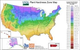 USDA unveils new Plant Hardiness Zone Map