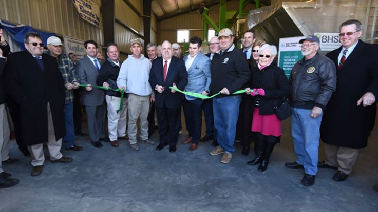 Maryland poultry farm opens waste-to-energy operations