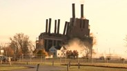 Michigan power plant implosion goes off without a hitch