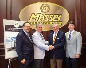 Massey Services Pledges $250,000 for Veteran's Memorial