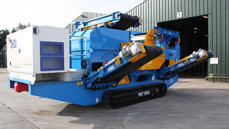 Master Magnets introduces tracked eddy current separator