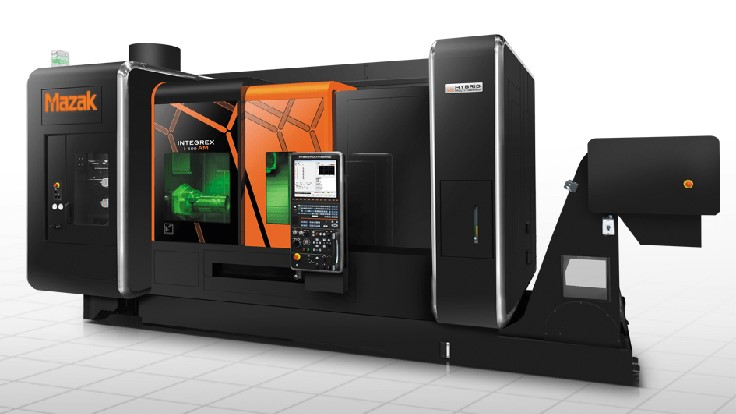 Mazak demonstrates 20+ advanced manufacturing cells, systems