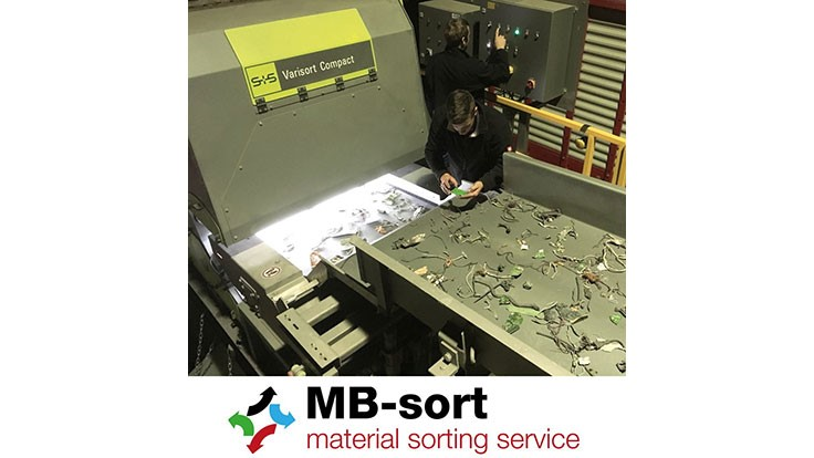 MB-Sort employs Sesotec's Varisort Compact sorting system