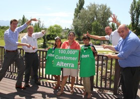 Alterra Achieves 100,000 Customers