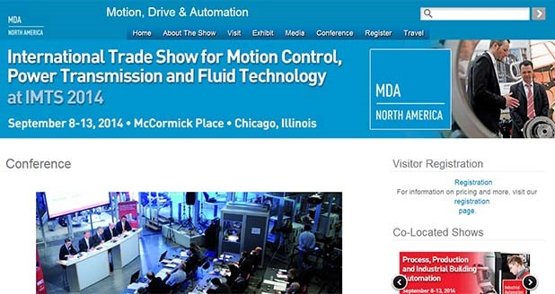Motion, Drive, and Automation Conference - Plan to attend