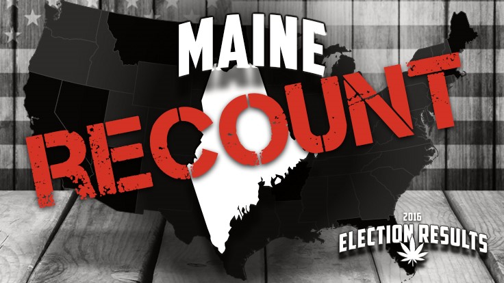 Maine: Cannabis Ballot Question to Be Recounted Dec. 5