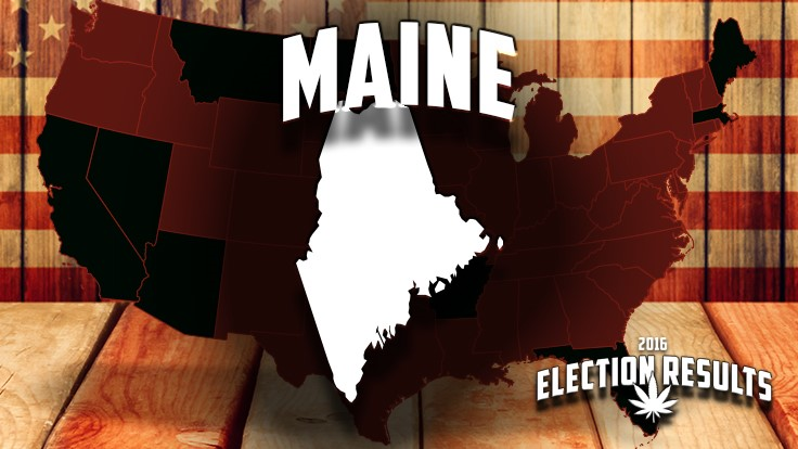 Marijuana Legalization Wins in Maine