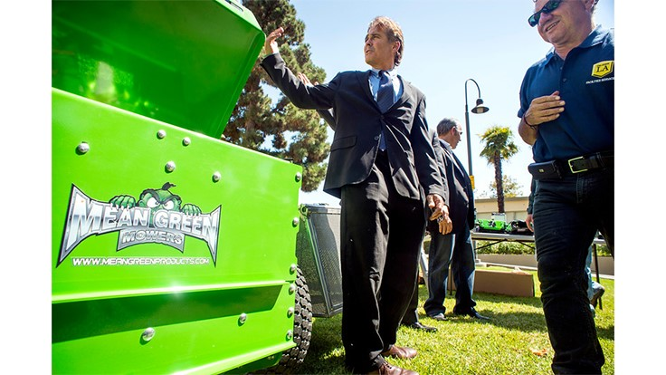 Cal State LA has dumped gas-powered landscaping equipment