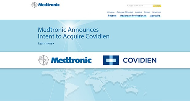 Medtronic agrees to acquire Covidien for $42.9B