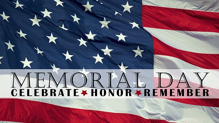National moment of remembrance on Memorial Day