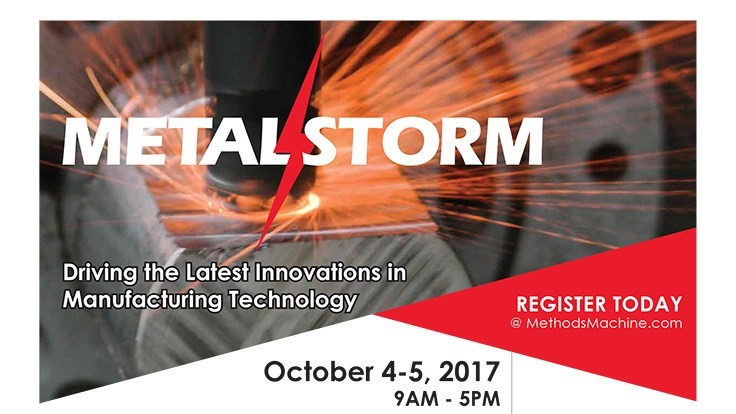 Methods Machine Tools' MetalStorm 2017