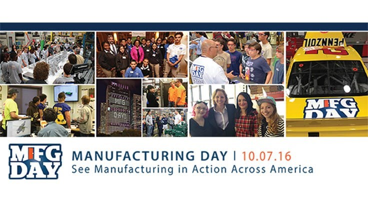Manufacturing Day is Friday Oct. 7, 2016
