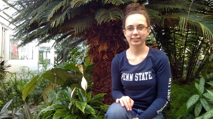 Penn State horticulture major named Shinoda Foundation Scholar of the Year