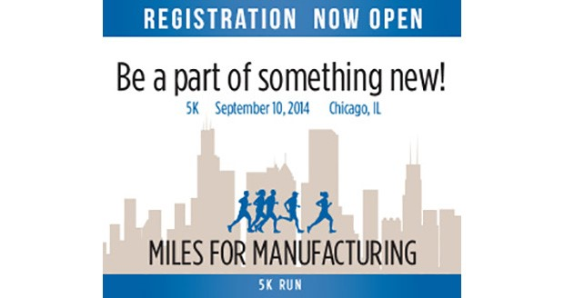 5K run/walk at IMTS 2014 - Miles for Manufacturing