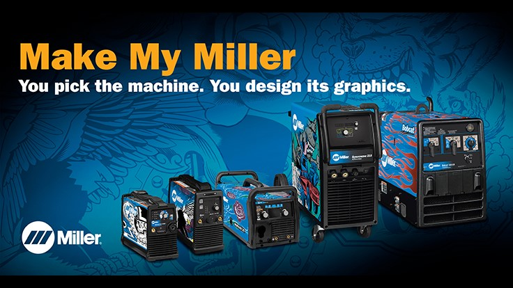 Miller Electric's Make My Miller giveaway