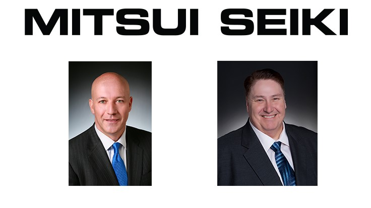New appointments at Mitsui Seiki USA