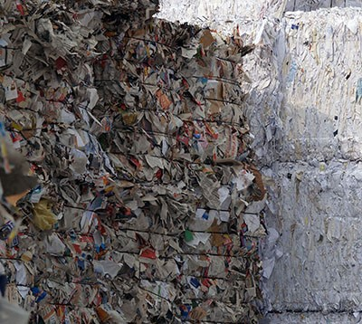 Report Finds Quality Problems with MRF-Generated Recyclables