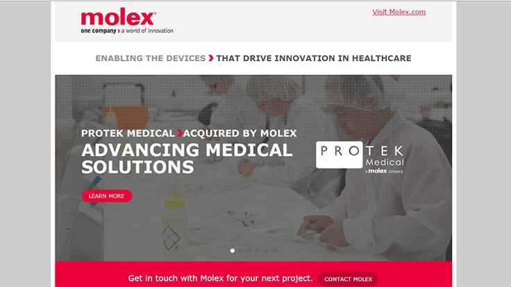 Molex to acquire Phillips-Medisize Corp.