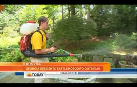 Video: Georgia Residents Battle Mosquitoes