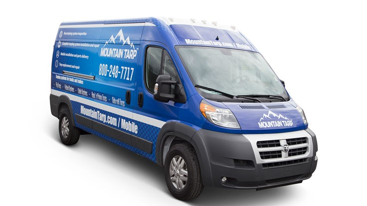 Wastequip's Mountain Tarp debuts mobile service program